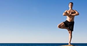 Hombre yoga